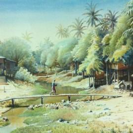 Tranquil Village Life